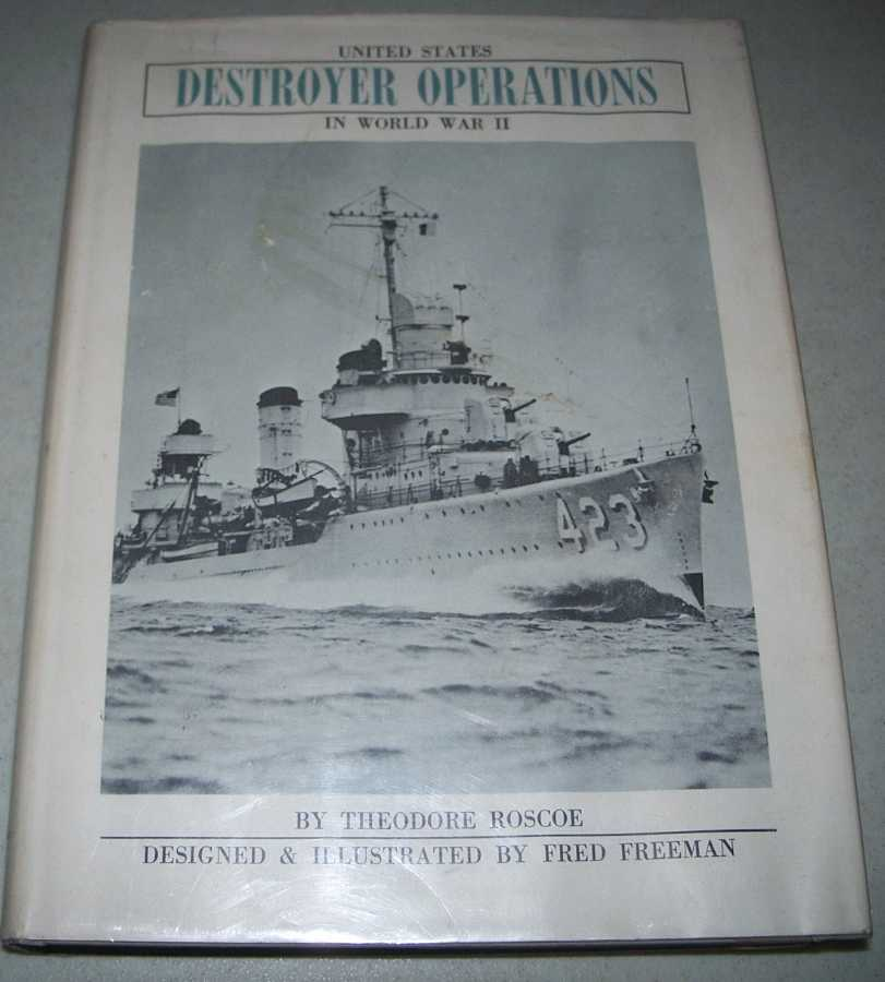 United States Destroyer Operations in World War II, Roscoe, Theodore