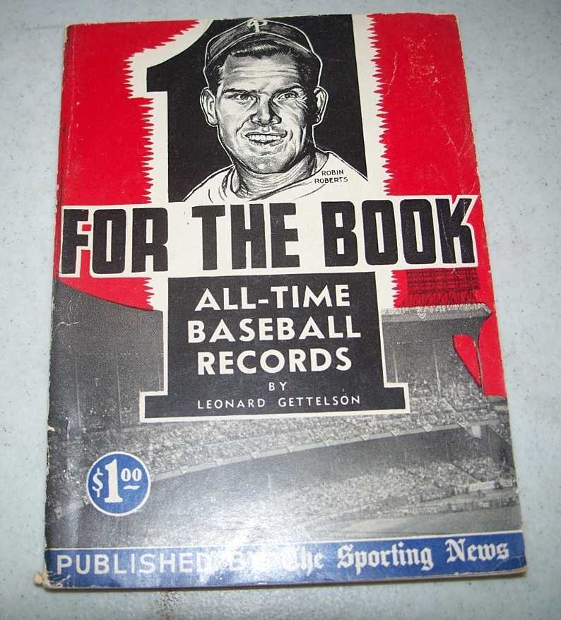 One for the Book 1956: All Time Baseball Records, Gettelson, Leonard