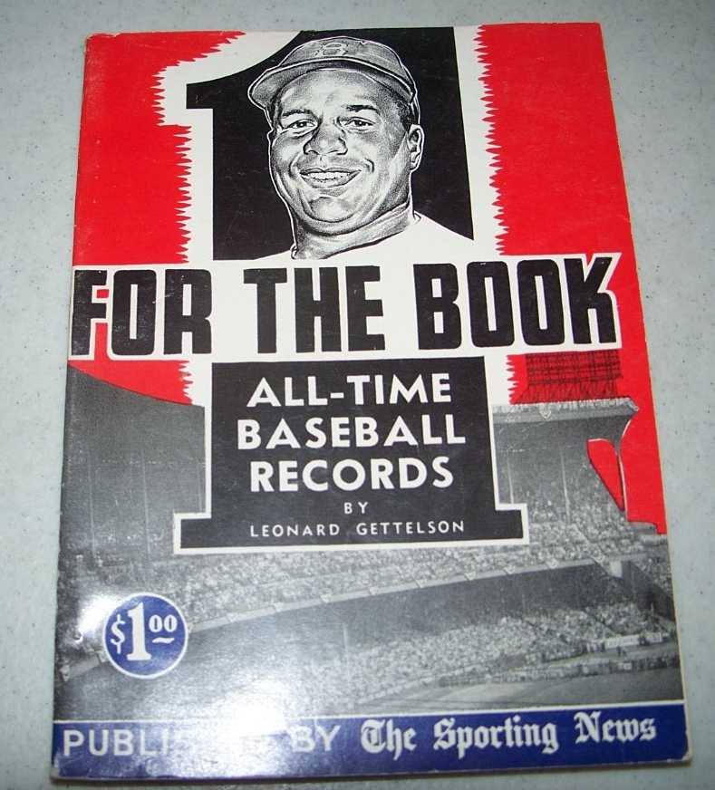 One for the Book 1954: All Time Baseball Records, Gettelson, Leonard