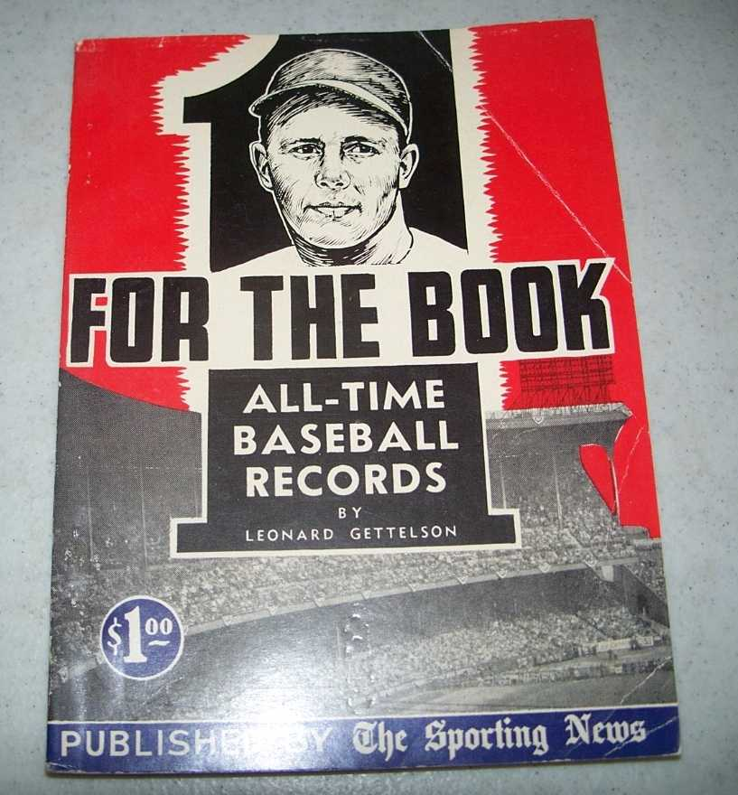 One for the Book 1953: All Time Baseball Records, Gettelson, Leonard