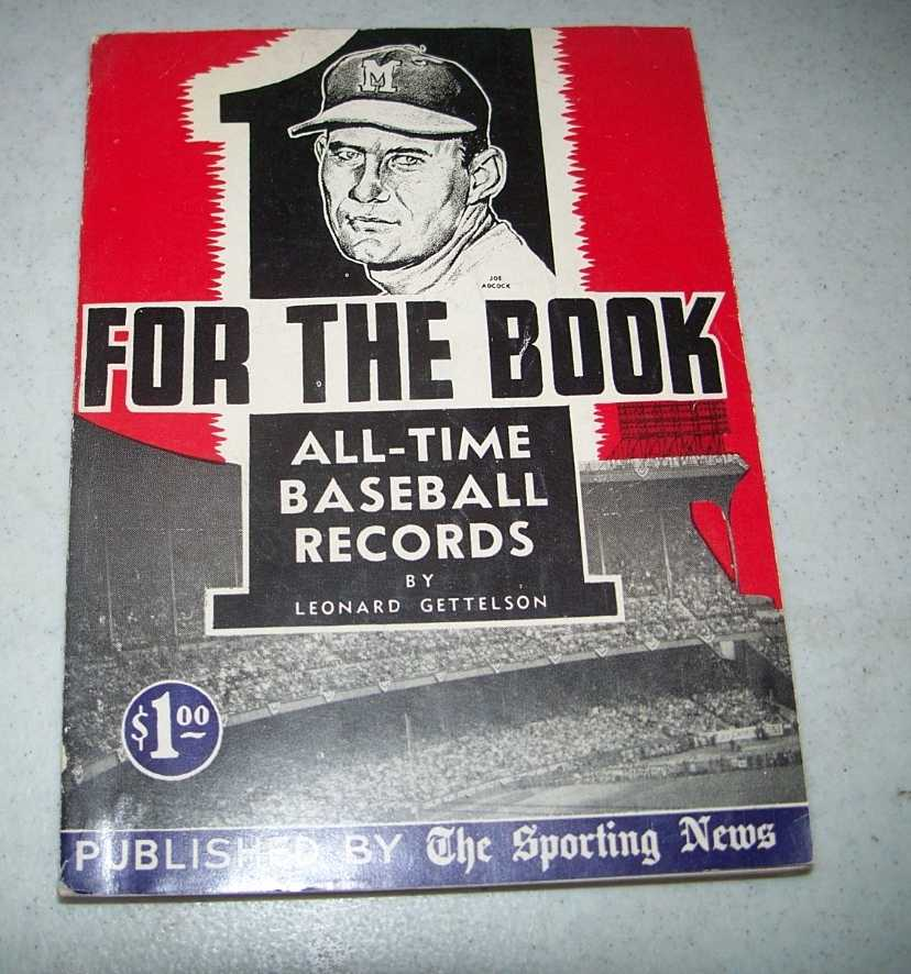 One for the Book 1955: All Time Baseball Records, Gettelson, Leonard