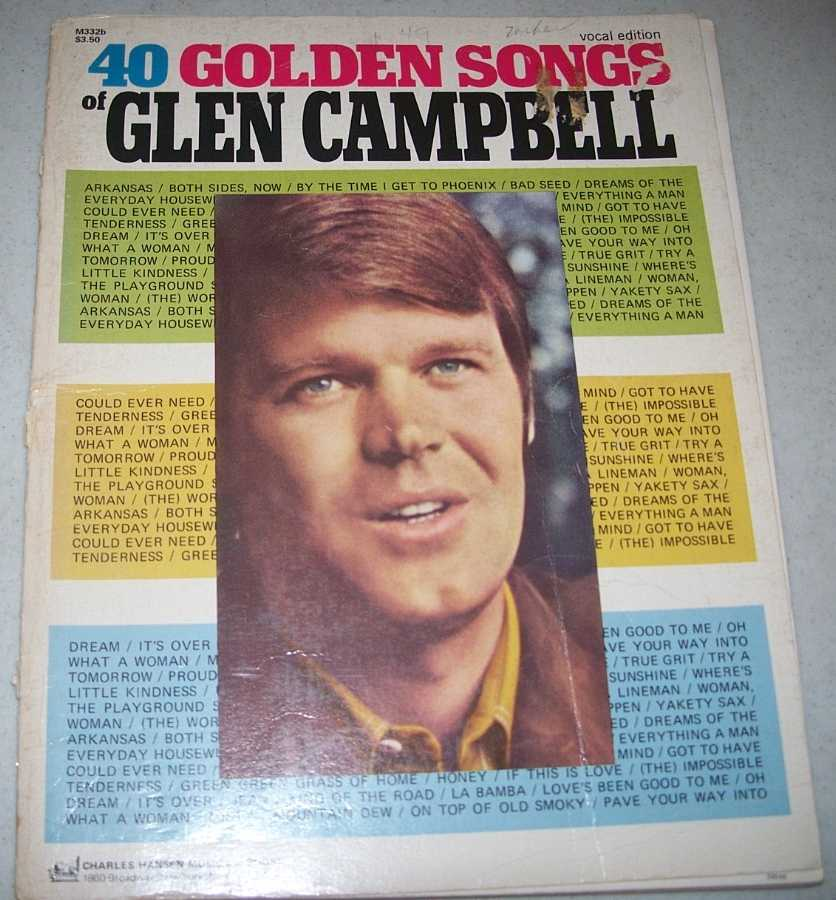 40 Golden Songs, Campbell, Glen