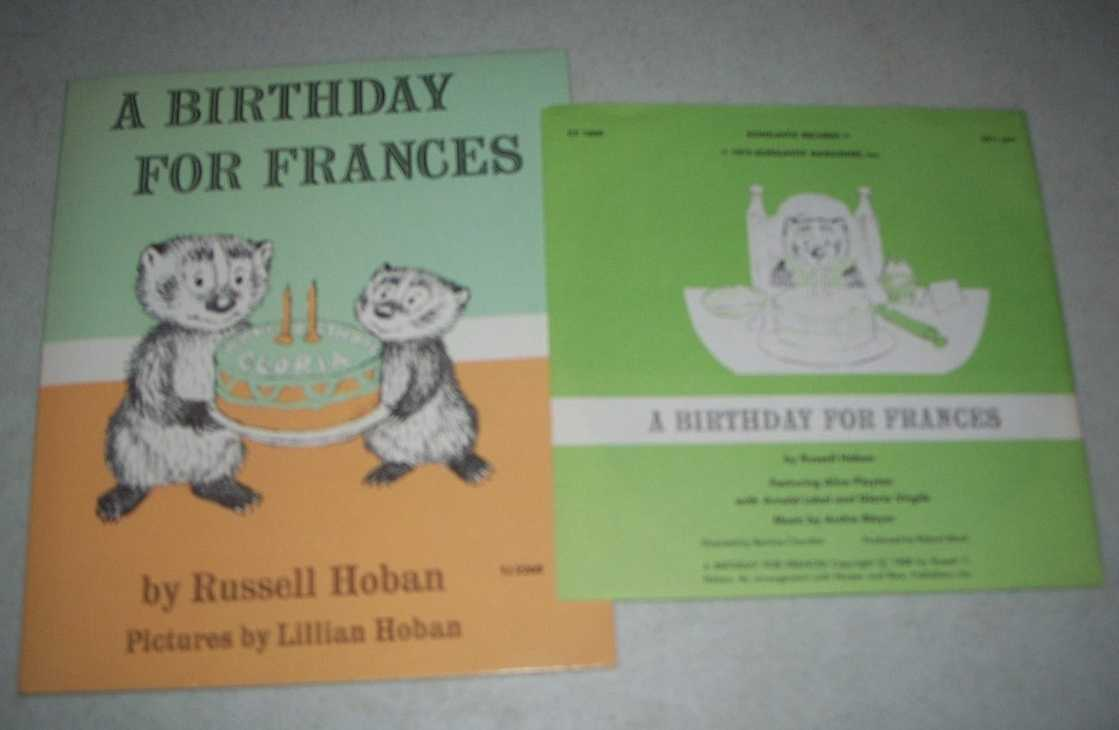 A Birthday for Frances (Book and Record), Hoban, Russell