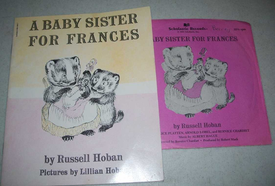 A Baby Sister For Frances (Book and Record), Hoban, Russell