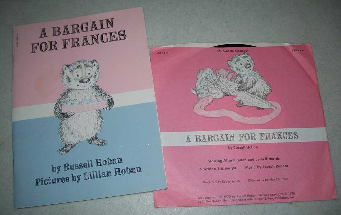 A Bargain For Frances (Book and Record), Hoban, Russell