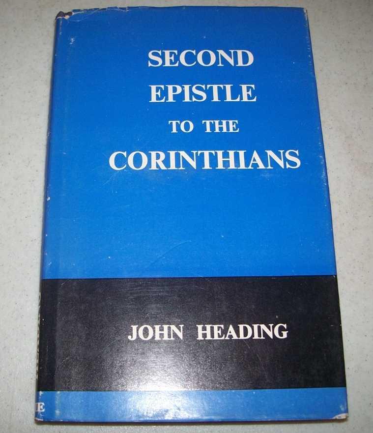 Second Epistle to the Corinthians, Heading, John