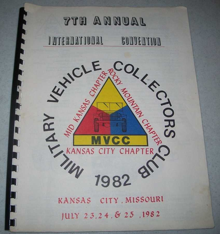 7th Annual International Convention 1982, Military Vehicle Collectors Club, N/A