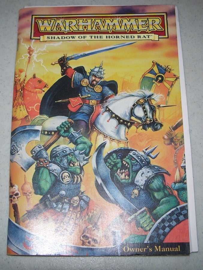 Warhammer: Shadow of the Horned Rat Owner's Manual, N/A
