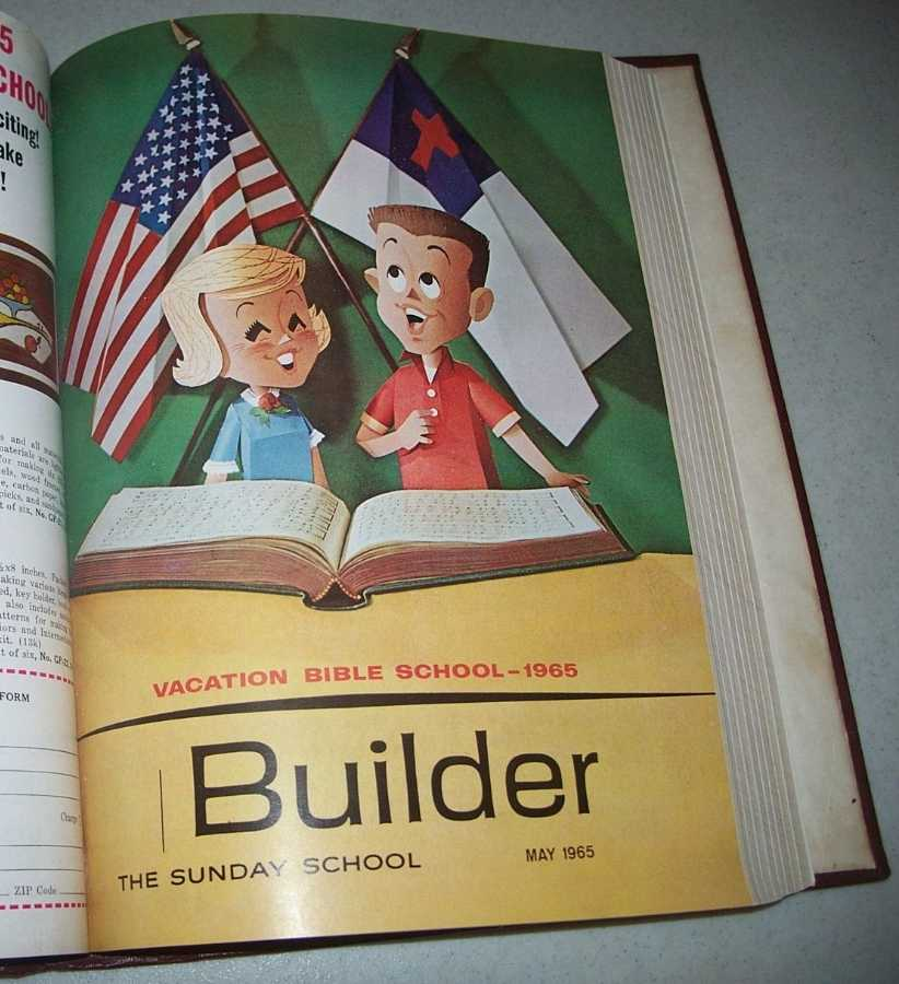 The Sunday School Builder 1965 Bound Volume of 12 Issues, N/A