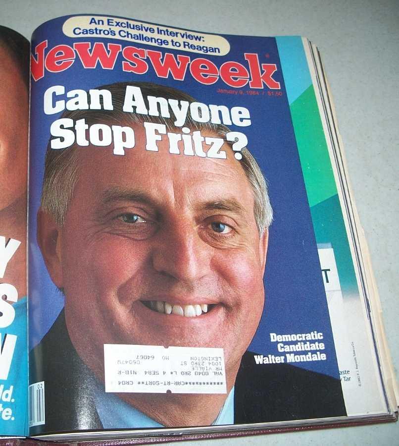 Newsweek Magazine Bound Volume January-March 1984, N/A
