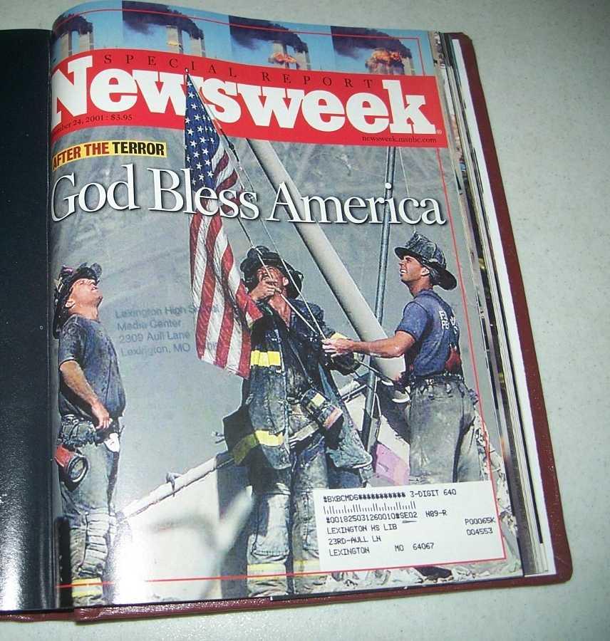 Newsweek Magazine Bound Volume July-September 2001, N/A