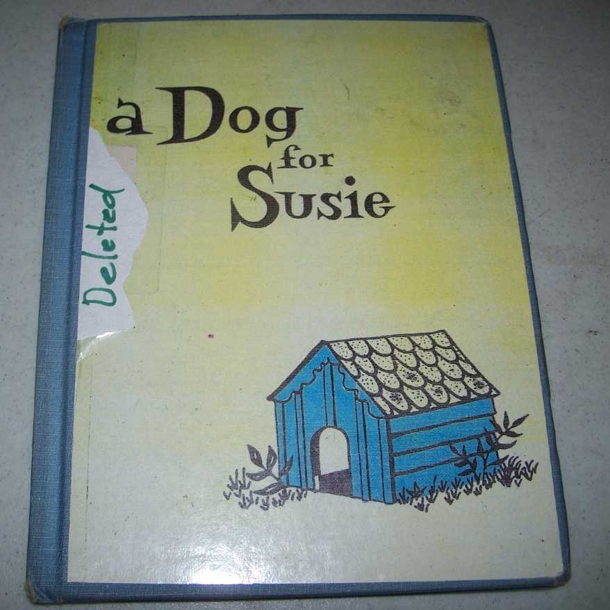 A Dog for Susie, Nordlie, Ruth