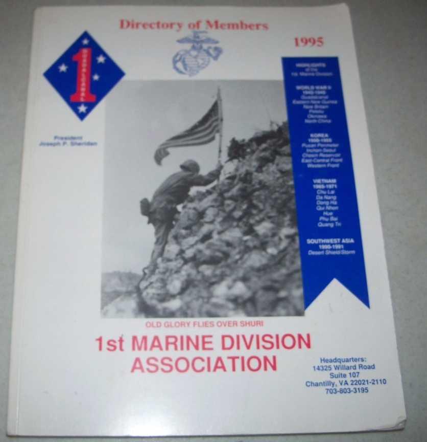 1st Marine Division Association Directory of Members 1995, Sherian, Joseph P.