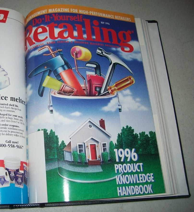 Do-It-Yourself Retailing Magazine (DIY): Serving Hardware, Home Center and Building Material Retailers, Volume 170, January-June 1996 bound together, N/A