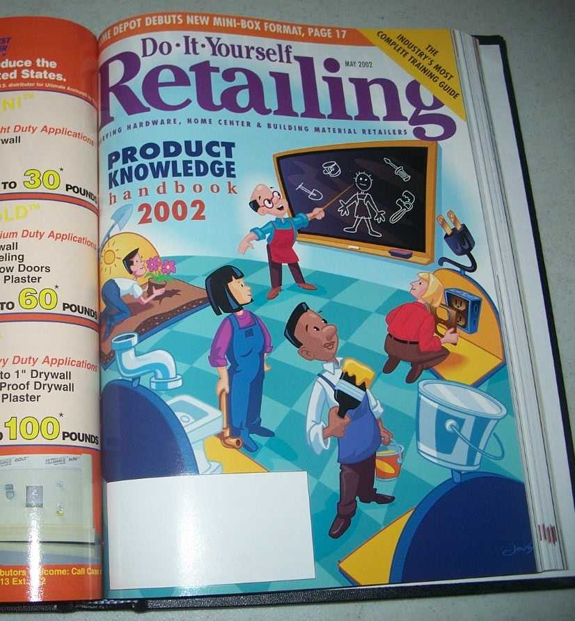 Do-It-Yourself Retailing Magazine (DIY): Serving Hardware, Home Center and Building Material Retailers, Volume 182, January-June 2002 bound together, N/A