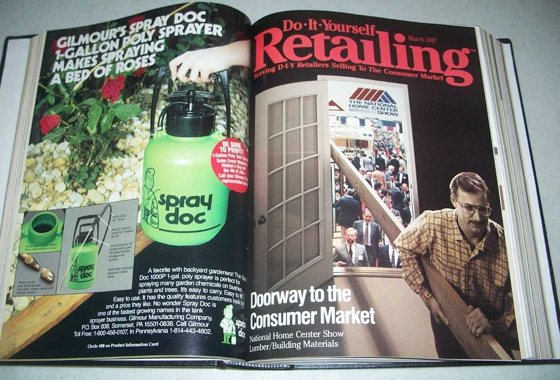 Do-It-Yourself Retailing Magazine (DIY): Serving Hardware, Home Center and Building Material Retailers, Volume 152, January-June 1987 bound together, N/A