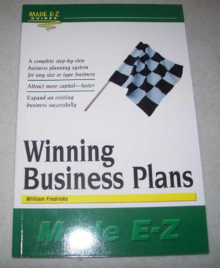 Winning Business Plans Made E-Z (Made E-Z Guides), Fredricks, William