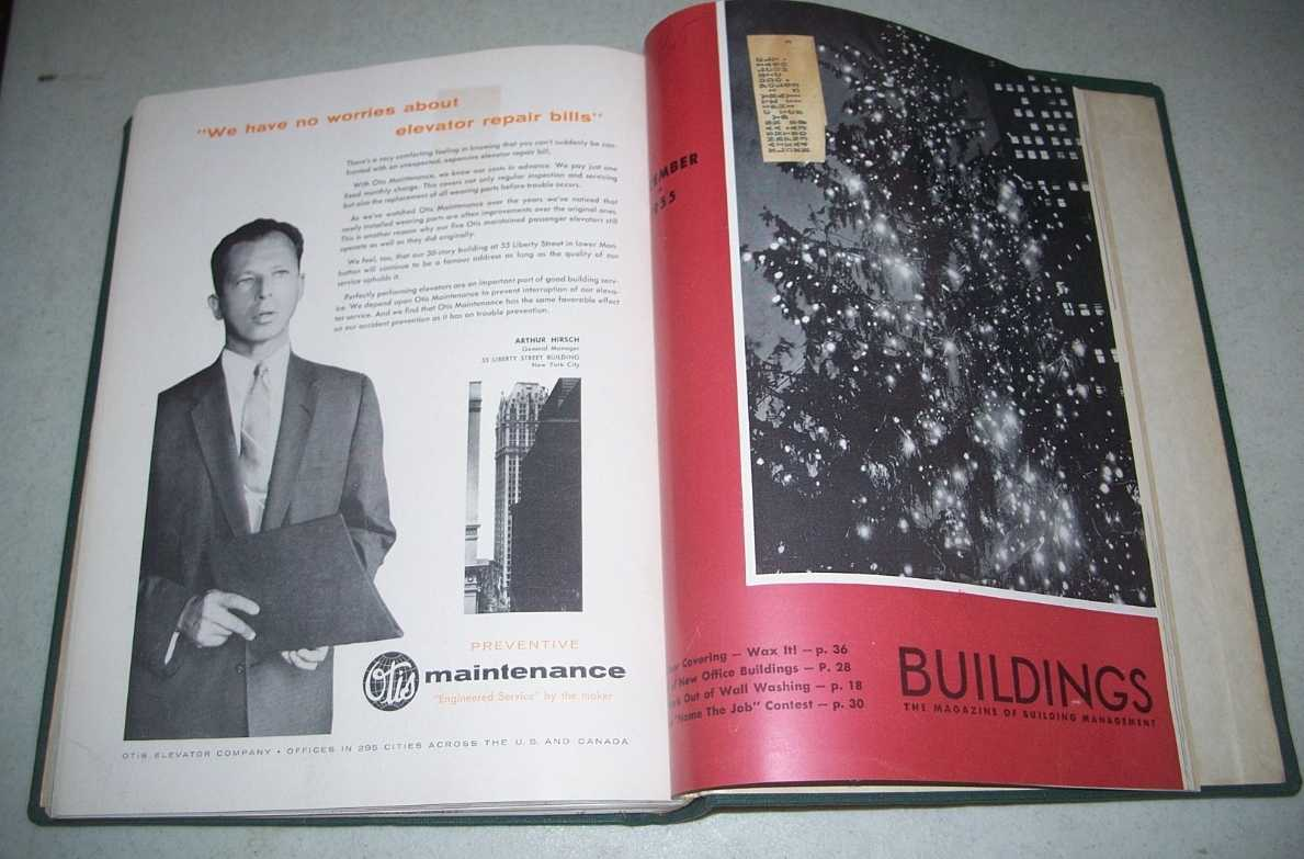 Buildings: The Magazine of Building Management Volume 55, January-December 1955 Bound together, N/A