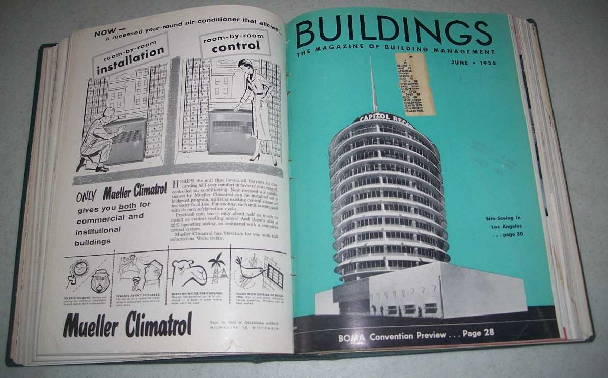 Buildings: The Magazine of Building Management Volume 56, January-December 1956 Bound together, N/A