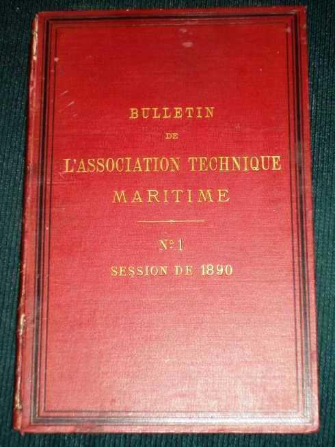 Bulletin de L'Association Technique Maritime (No. 1 - Session de 1890), No Author Stated