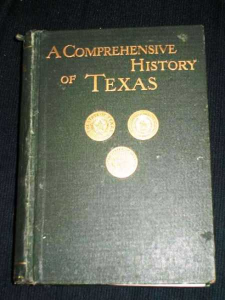 Comprehensive History of Texas 1685 to 1897, A (Volume 2 only), Wooten, Dudley G.