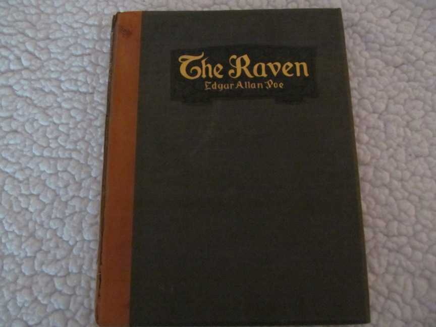 Raven and the Philosophy of Composition, The (Quarto Photogravure Edition), Poe, Edgar Allan