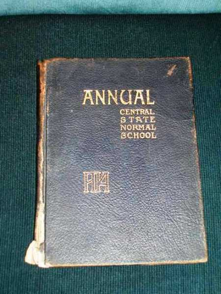 Central State Normal School Annual (Yearbook), Various / Unstated