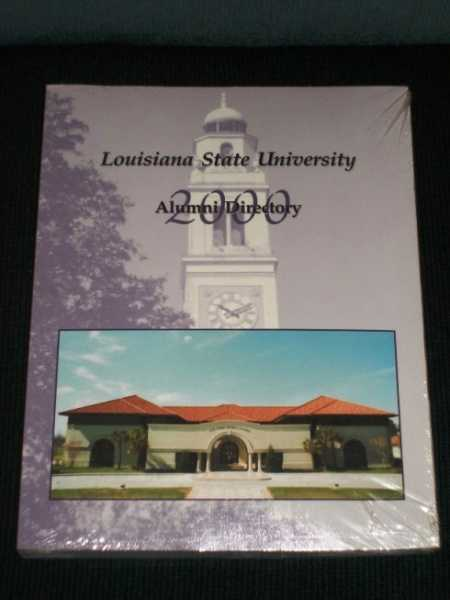 Louisiana State University Alumni Directory - 2000, Various / Unstated