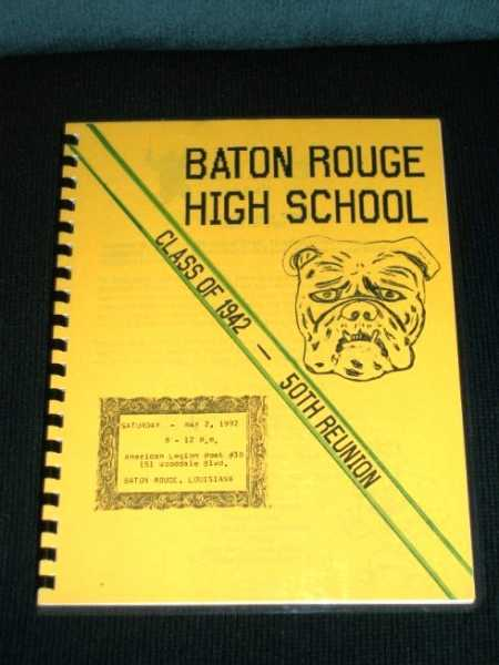 Baton Rouge High School 50th Reunion - Class of 1942, Various / Unstated