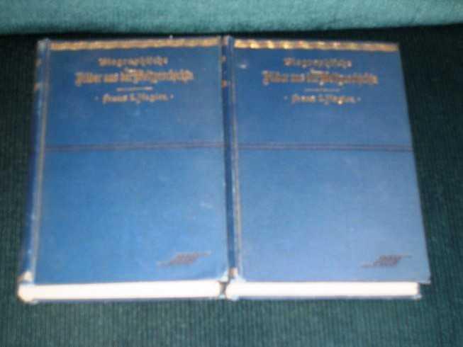 Bilder Aus Der Weltgeschichte (2 Volume set), Nagler, Franz L.