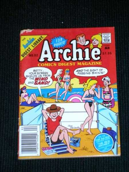Archie Comics Digest Magazine No. 92, Various / Unstated