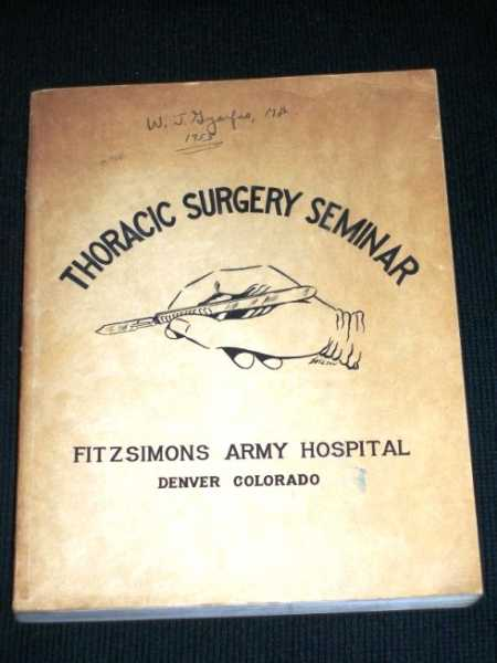 Thoracic Surgery Seminar, Robinson, Paul I. (Commanding officer)