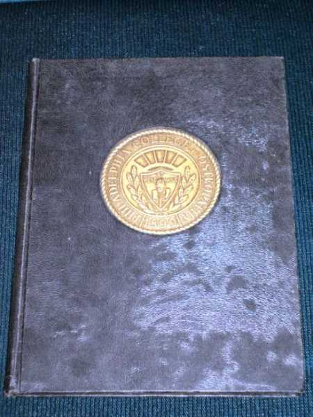 Philadelphia College of Osteopathy Yearbook - The Synapsis 1950, Wesley, Carl (Editor)