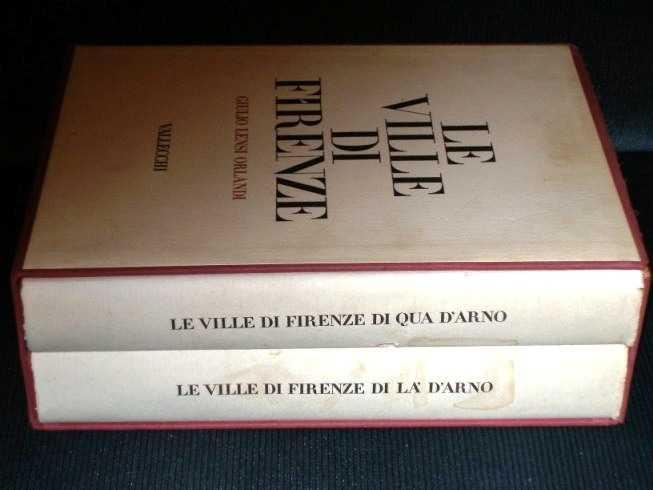 Le Ville Di Firenze Di La' D'Arno (2 Vol set), Orlandi, Giulio Lensi