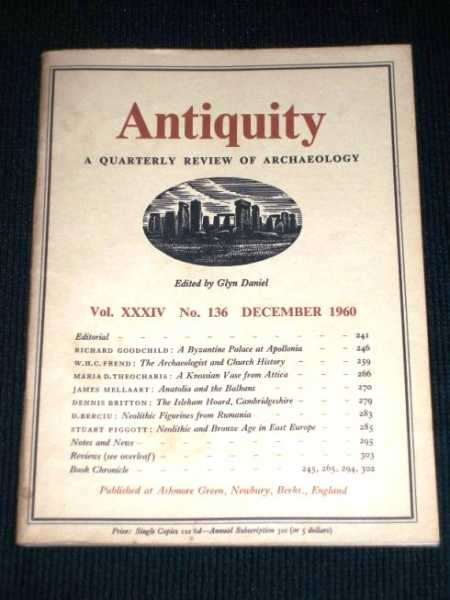 Antiquity - A Quarterly Review of Archaeology - December 1960, Daniel, Glyn (Editor)