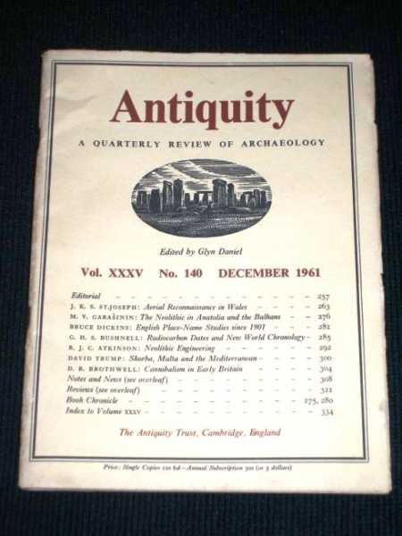 Antiquity - A Quarterly Review of Archaeology - December 1961, Daniel, Glyn (Editor)
