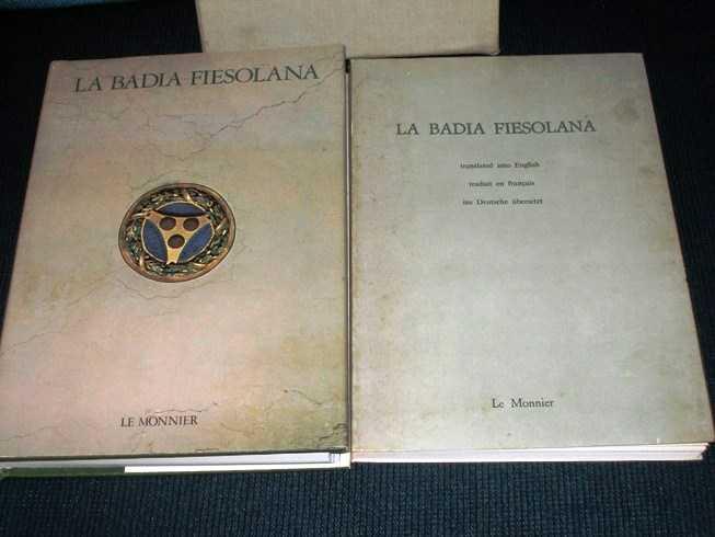 La Badia Fiesolana (2 Volume set), Borsi, Franco; Landucci, Giovanni; Morolli, Gabriele; Balducci, Ernesto