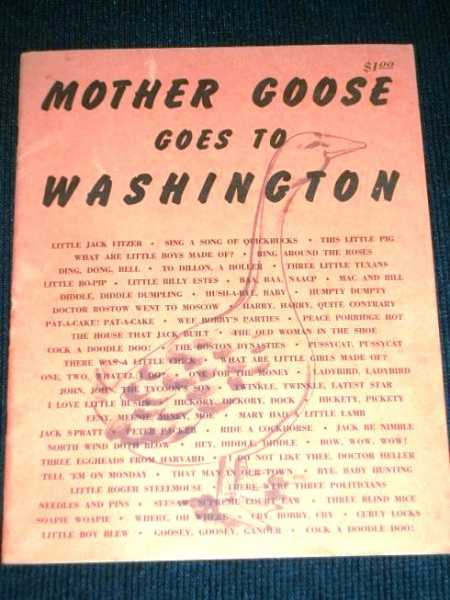 Mother Goose Goes to Washington, N/A