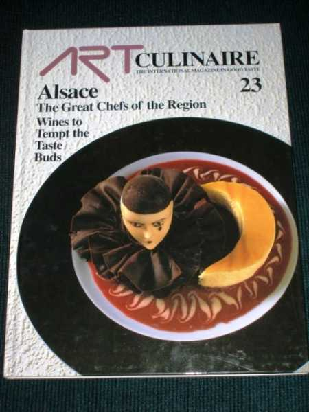 Art Culinaire 23 - The International Magazine in Good Taste - Winter, 1991, N/A