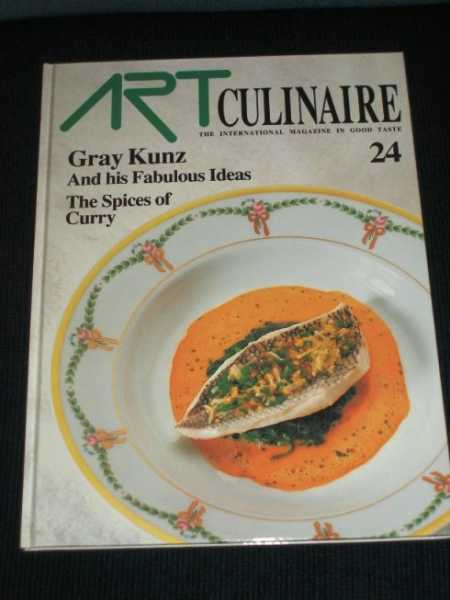 Art Culinaire 24 - The International Magazine in Good Taste - Spring, 1992, N/A