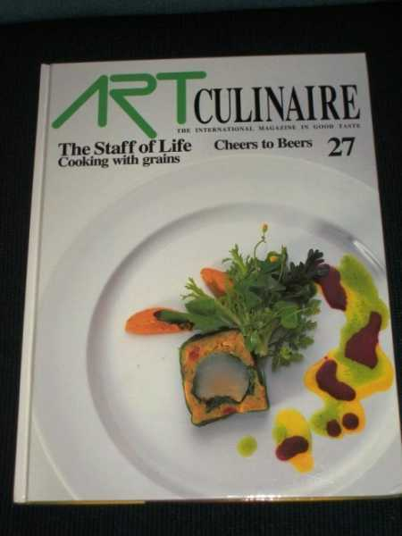 Art Culinaire 27 - The International Magazine in Good Taste - Winter, 1992, N/A
