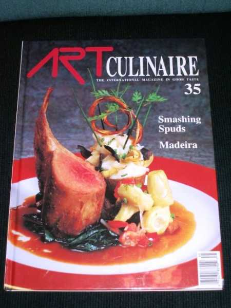 Art Culinaire 35 - The International Magazine in Good Taste - Winter, 1994, N/A