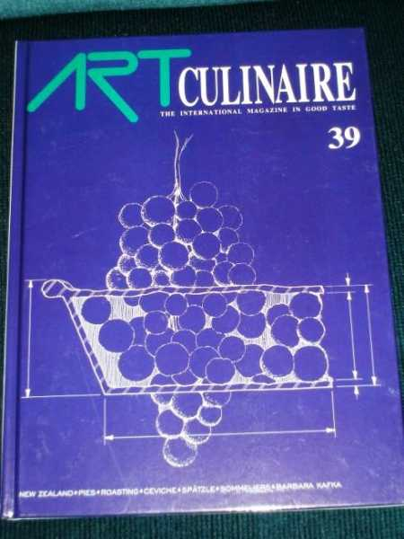 Art Culinaire 39 - The International Magazine in Good Taste - Winter, 1995, N/A