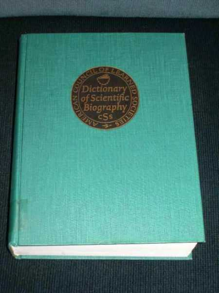 Dictionary of Scientific Biography: Volumes 1 & 2 in 1, Gillispie, Charles Coulston