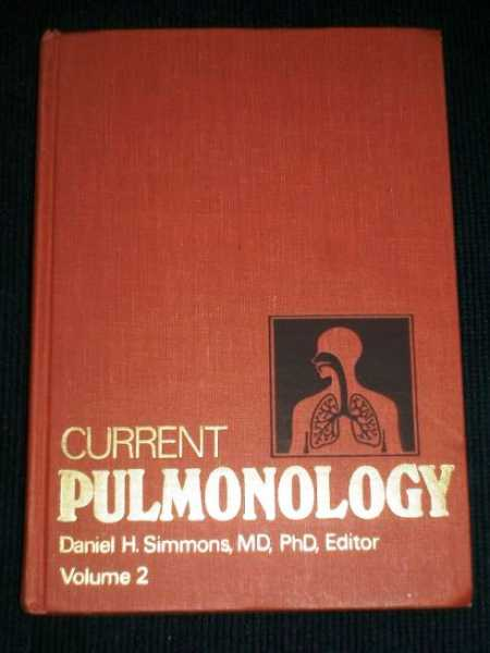 Current Pulmonology, Volume 2, Simmons, Daniel H.