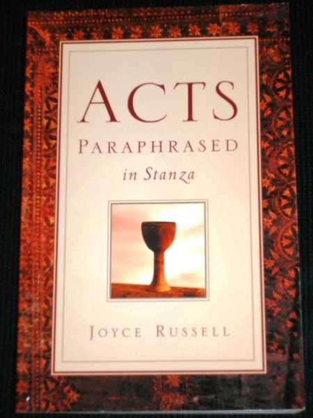 Acts Paraphrased In Stanza, Russell, Joyce