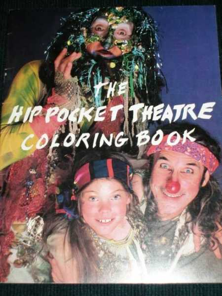 Hip Pocket Theatre Coloring Book, The, Martinez, Adrian