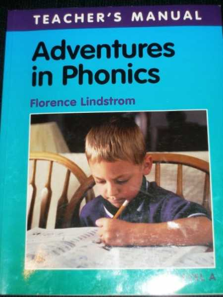 Adventures in Phonics: Level A, Lindstrom, Florence