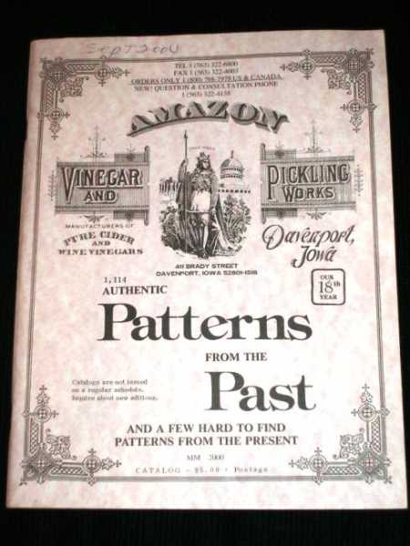 Authentic Patterns from the Past (and a Few Hard to Find Patterns from the Present), N/A