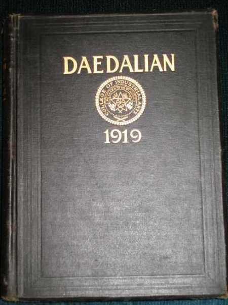 Daedalian 1919 Yearbook - Vol X - College of Industrial Arts, Denton, TX, N/A